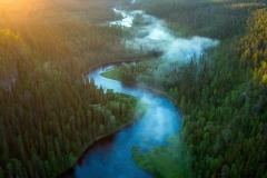 summer-river-kitkajoki-sunrise